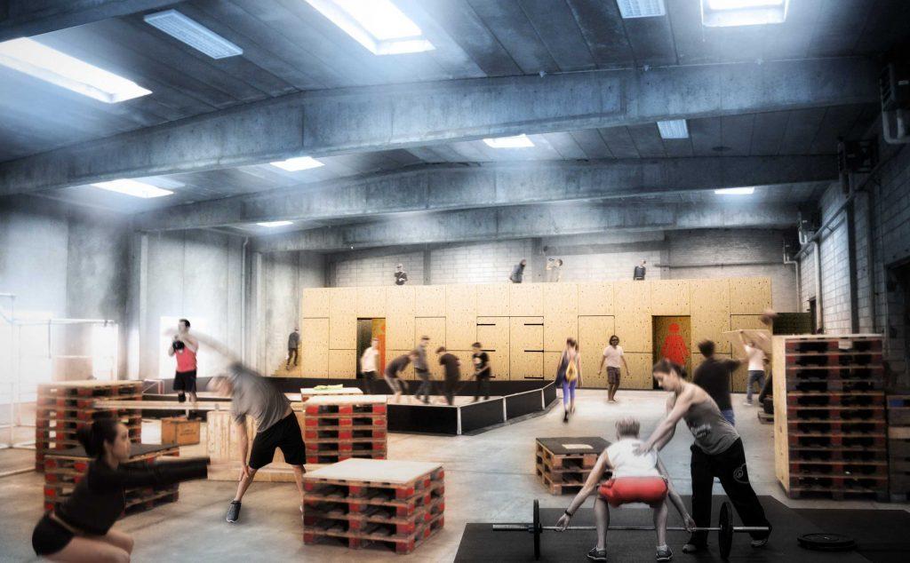 Visualisering af indendørs aktivitetsareal